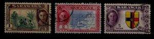 Sarawak 192-94 used SCV42