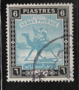 SUDAN Scott 90 used Camel Mail