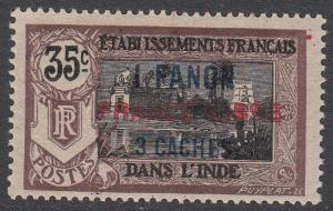 French India 115a MLH CV $125.00