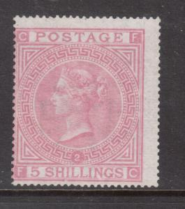 Great Britain #57a (SG #127) Mint Artfully Regummed Scarce Stamp