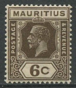 STAMP STATION PERTH Mauritius #185 KGV Definitive Issue MNH Wmk 4 Type II
