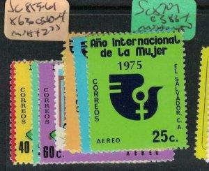 El Salvador SC 859-61, 863, C310-4 MNH (9ecq)