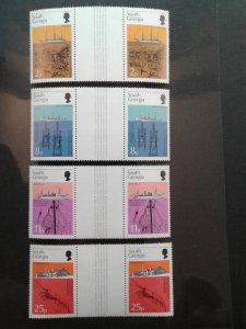 South Georgia 44-47 VF MNH Gutter Pairs.  Scott $ 16.00+
