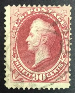 MOMEN: US STAMPS #155 USED LOT #52062-1