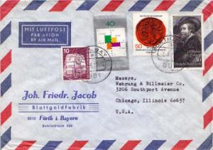 Germany, Airmail, Trains, Art