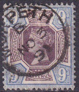 Great Britain #120  F-VF Used CV $45.00  (Z3427)