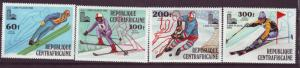 J15490 JLstamps 1979 central africa rep set mh #c216-9 sports
