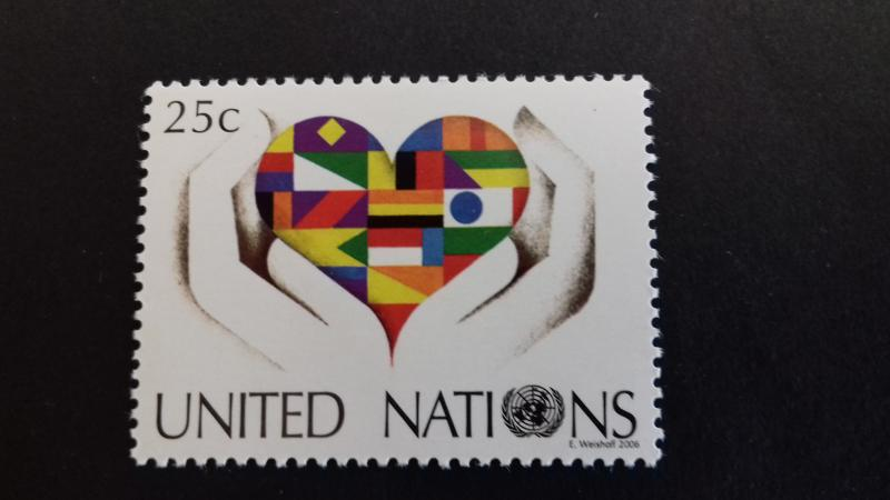 United nations NY 2006 New York Definitive Mint