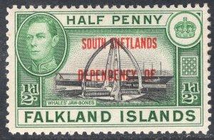 FALKLAND ISLANDS SCOTT 5L1