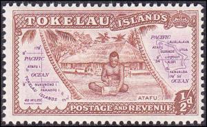 Tokelau Scott 1 MNH