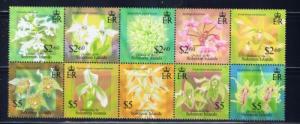 Solomon Is 975 NH 2004 Orchids Block