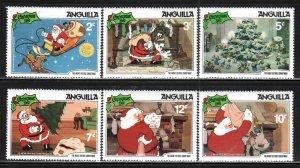 Anguilla # 453-61 ~ Short Set 6 of 9 ~ Mint, NH