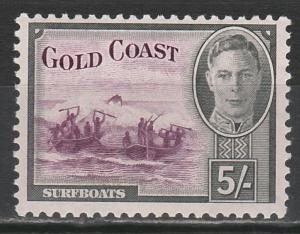 GOLD COAST 1948 KGVI SURFBOATS 5/-