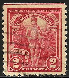 United States 1927 Scott# 643 Used