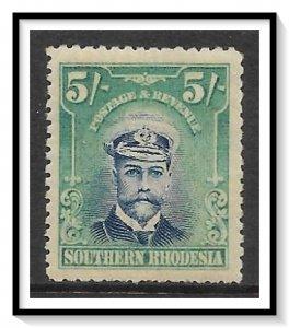 Southern Rhodesia #14 KG V NG