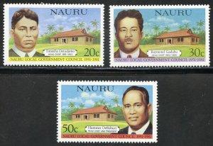 Nauru Scott 224-26 MVFNHOG - 30th Annv. Legislative Council - SCV $1.00