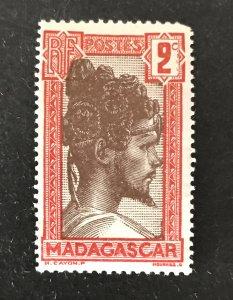 Madagascar 1930-44 #148, Unused
