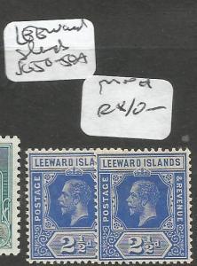 Leeward Islands SG 50-50a MOG (6clg)