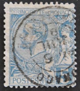 DYNAMITE Stamps: Monaco Scott #13 – USED