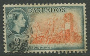 STAMP STATION PERTH Barbados #236 QEII Definitive Issue Used CV$0.80