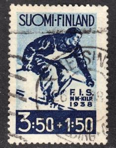 Finland Scott B33  F+  used.