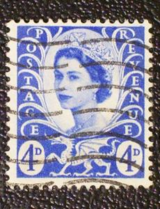 Great Britain - Wales & Monmouthshire Scott #2 used