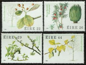 Ireland 585-88  MNH - Native Trees - 1984