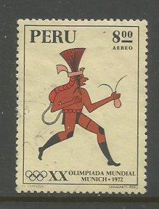 Peru    #C342  Used  (1972)  c.v. $0.55