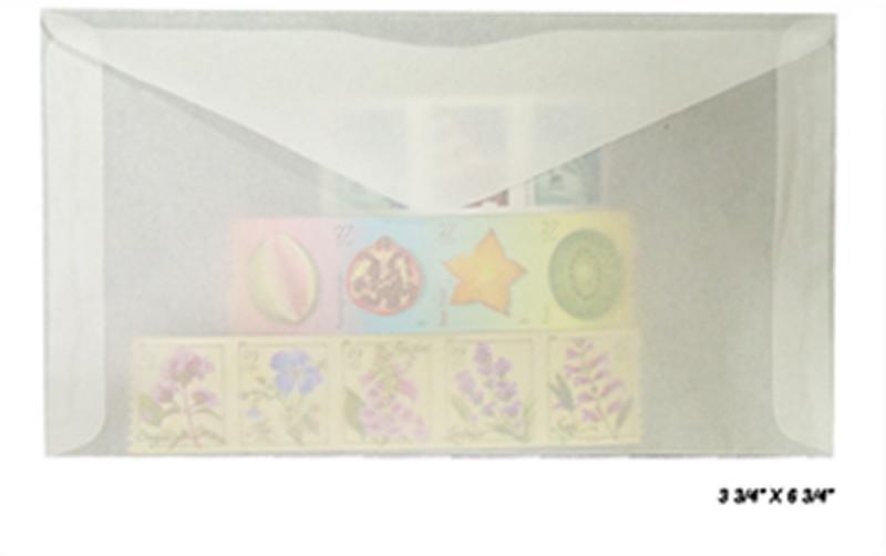 100 count - Glassine Envelopes #6 - ACID FREE - size 3 3/4 x 6 3/4