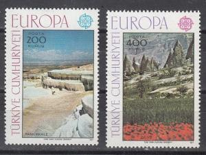 Turkey Scott 2051-2052 Mint NH (Catalog Value $16.00)
