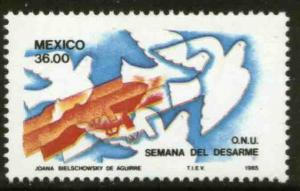 MEXICO 1410, U.N. Disarmament Week MNH