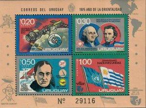 Uruguay Sc#C414 M/NH/EF, S/S, Cv. $40
