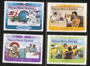 Papua New Guinea, PNG  Scott 584-587 MNH** 1983 set