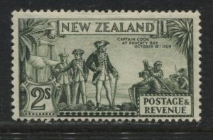New Zealand 1936 2/ perf 13 1/2 by 14 mint o.g.