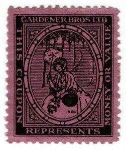 (I.B) Cinderella Collection : Trade Label (Gardener Brothers Ltd)