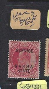 INDIA  NABHA    (P2107B)   KE  1A  SERVICE  SG O36   MOG