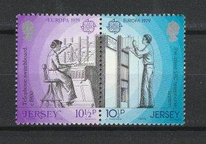 Jersey MNH 204-5a Europa 1979