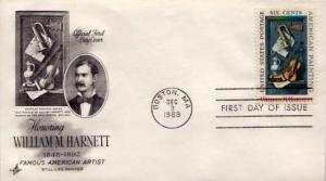United States, First Day Cover, Art