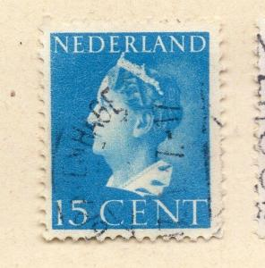 Netherlands 1939 Early Issue Fine Used 15c. 171410