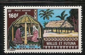 Wallis and Futuna Islands C83 1978 Christmas single MNH