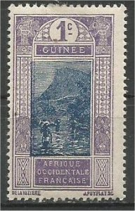 FRENCH GUINEA, 1913, MH 3c Ford at Kitim Scott 63