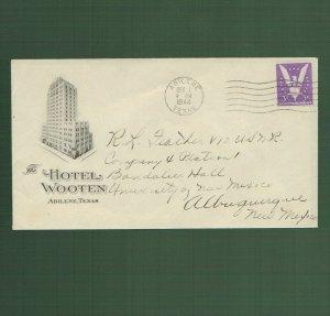 Abilene Texas, Hotel Wooten, 1944 (4012)