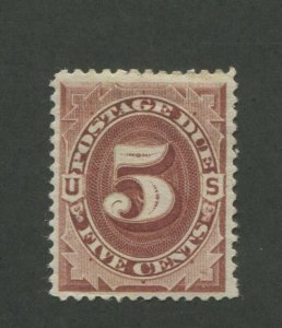 1884 United States Postage Due Stamp #J18 Mint Hinged VF Original Gum