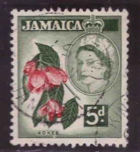 Jamaica Scott 165 Used  QE2 stamp