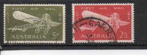Australia 382-383 used (B)