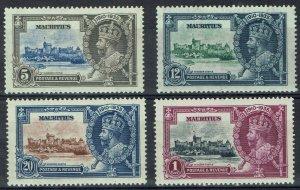 MAURITIUS 1935 KGV SILVER JUBILEE SET */**