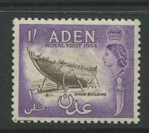 STAMP STATION PERTH Aden #62 - QEII Definitive Issue 1954  MNH  CV$0.65.
