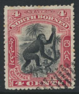 North Borneo  SG 99   Used  perf 14 please see scan & details