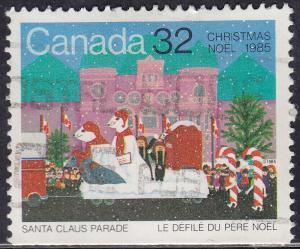 Canada 1070 USED 1985 Santa Claus Parade 32
