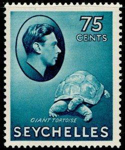 SEYCHELLES SG145, 75c slate-blue, LH MINT. Cat £85.